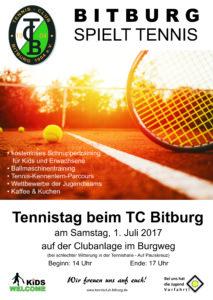 Schnuppertennis @ Tennisanlage TC Bitburg | Bitburg | Rheinland-Pfalz | Germany
