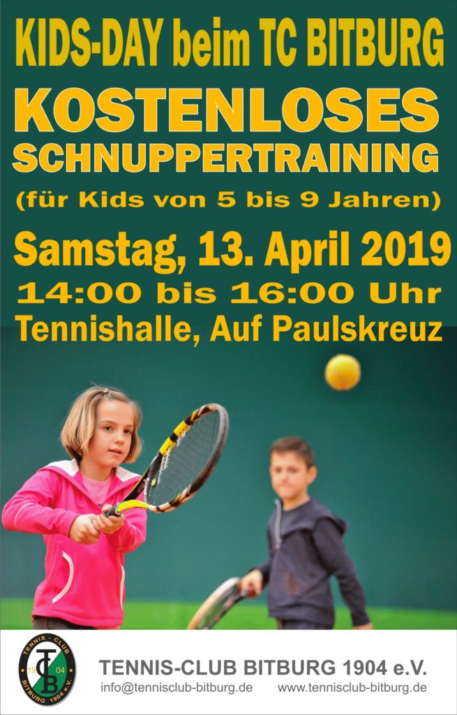 KIDS-DAY @ Tennishalle